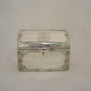 5091. French Silver box